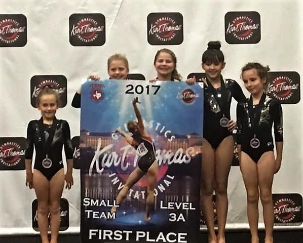 Achievers Gymnastics Taaf Team Rocks Competition Achievers