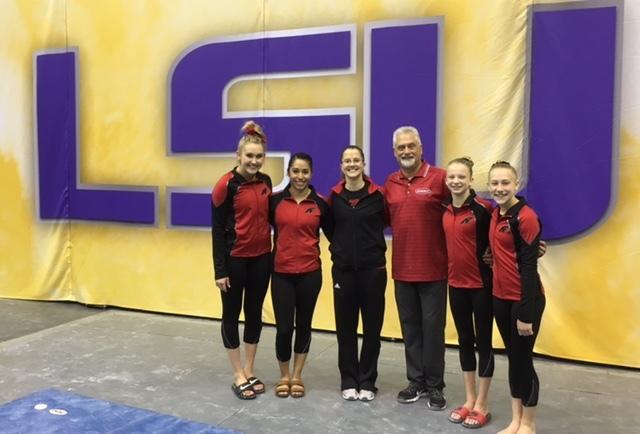Achievers Gymnasts Excel In Baton Rouge  Purple  U0026 Gold Invitational